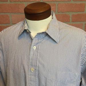 J Crew Mens dress shirt size L 16-16 1/2 (N47)